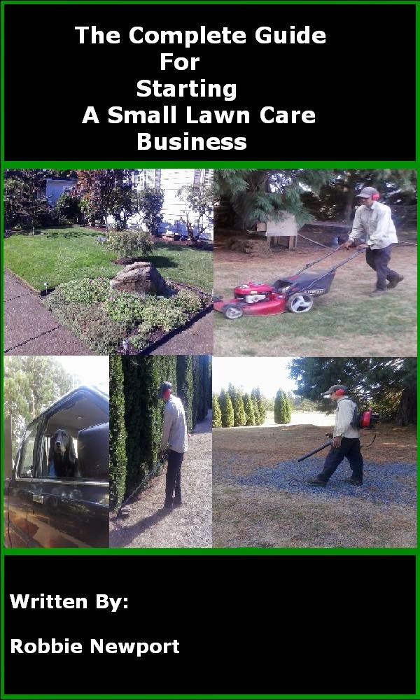 how to start a small lawn care business