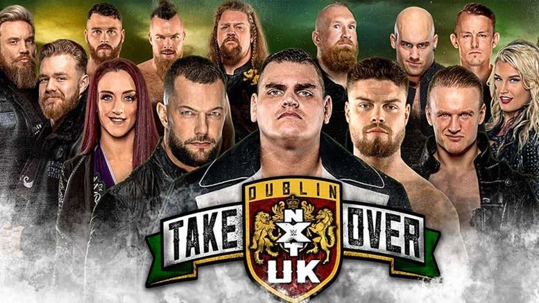 WWE adia o NXT UK TakeOver: Dublin para outubro