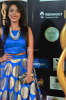 Madhu Shalini Looks Super Cute Slim trim Blue Choli Ghagra IIFA Utsavam Awards 25.JPG