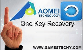AOMEI OneKey Recovery – Easy One Click Restore and Backup Software