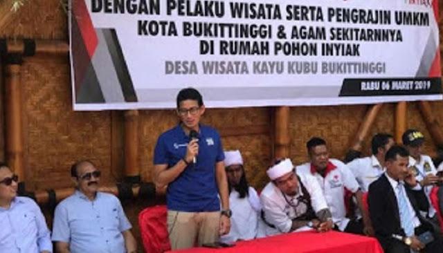 Kunjungi Ngarai Sianok, Sandi Salut Ada Rumah Adat Berusia 149 Tahun