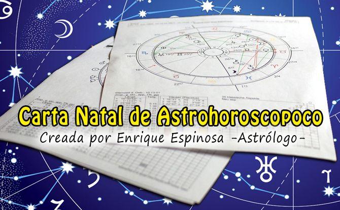 Carta astral personalizada astrohoroscopo