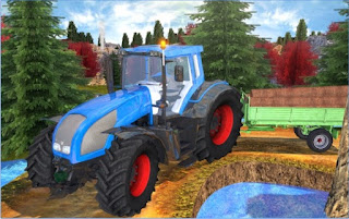 Game Tractor Hill Driver 3D App