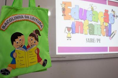 Prefeitura de Sairé cria projeto para estimular leitura