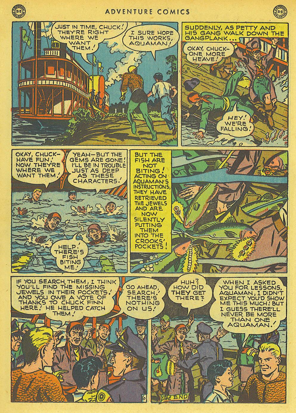 Read online Adventure Comics (1938) comic -  Issue #136 - 32