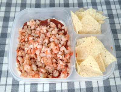 Shrimp and Crab Meat Layered Dip Recipe