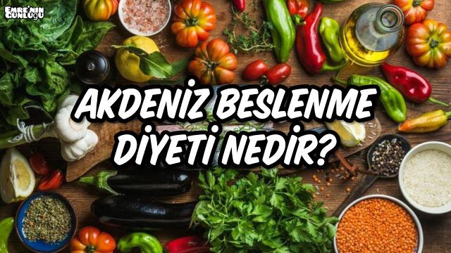 Akdeniz Beslenme Diyeti