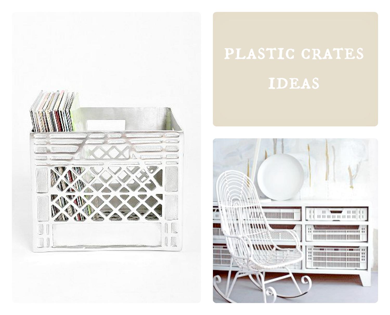 plastikowe skrzynki pomysły