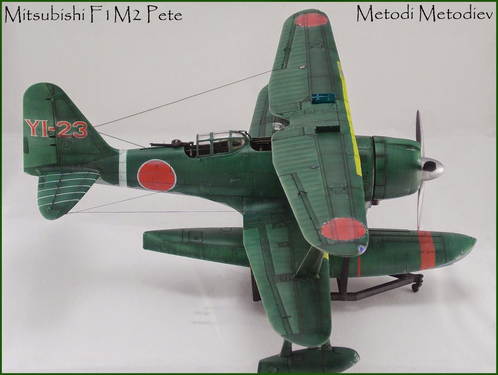IJN Mitsubishy F1M2 Pete - Hasegawa 1:48 scale model