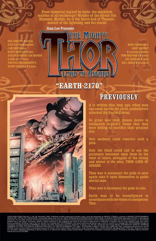 Thor (1998) Issue #69 #70 - English 2