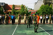 Peleton Komando Pemkab Kep.Selayar Latihan Di Makodim