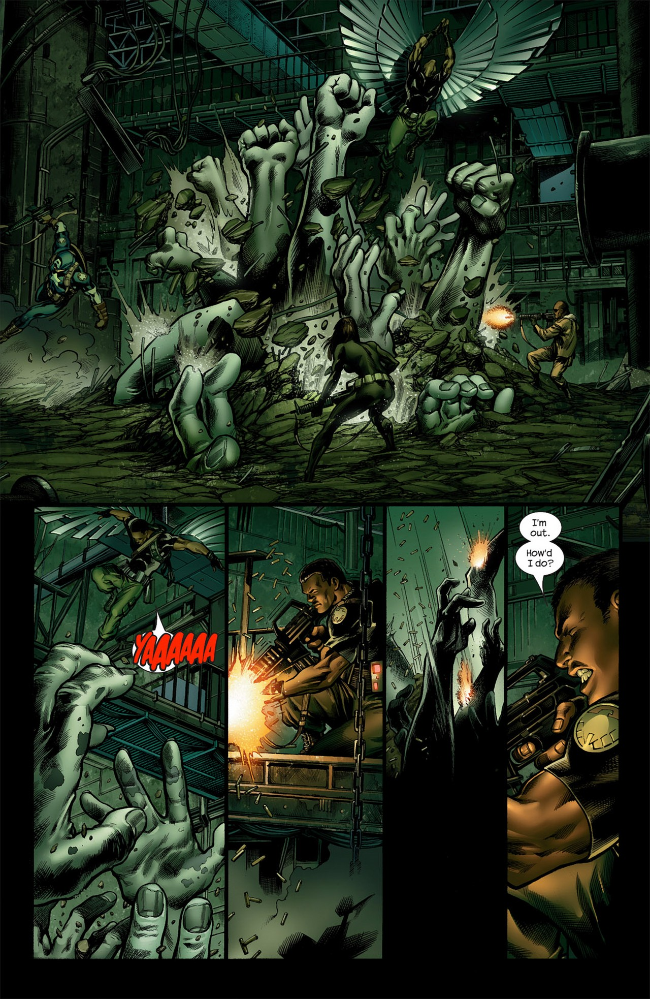 Read online Ultimate Nightmare comic -  Issue #4 - 10