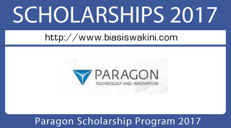 Paragon Scholarship Program 2017