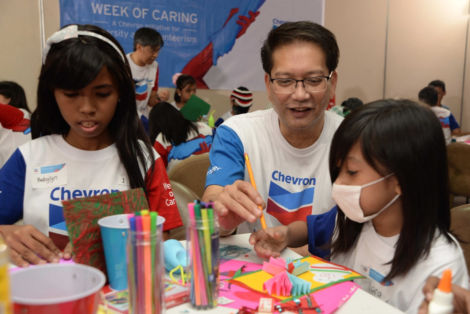 Chevron's Week of Caring