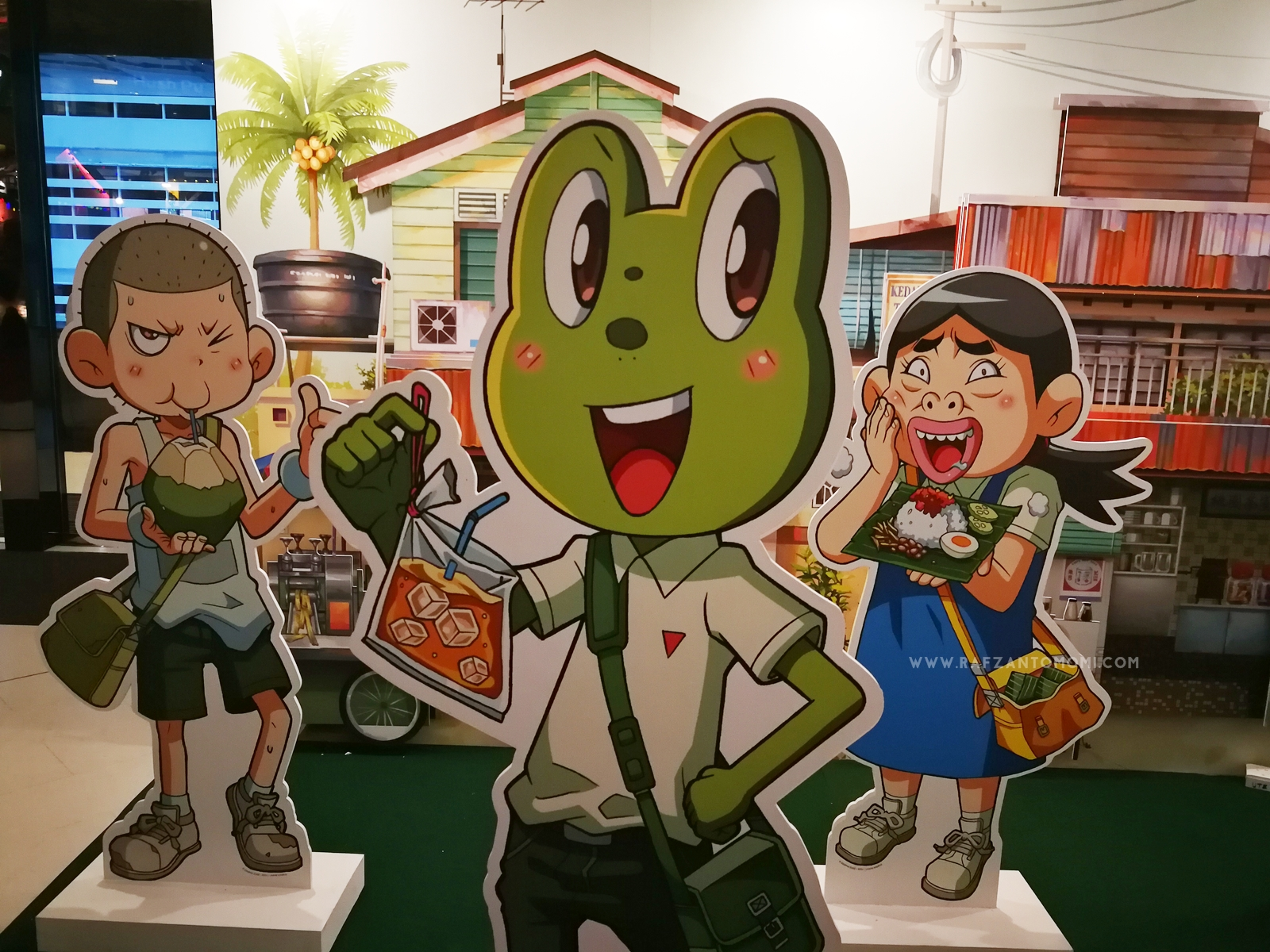 Pra-Pelancaran Komik Edisi Istimewa Lawak Kampus & Boboiboy Galaxy : Superior !
