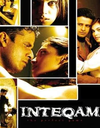 Poster Of Inteqam The Perfect Game 2004 Hindi 350MB HDRip 480p Free Download Watch Online