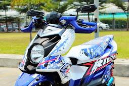 Foto New Modifikasi Motor Yamaha X-Ride Terbaru