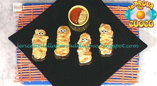 Ricetta della Mummia antipasto di Halloween da Prova del Cuoco