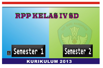 Download RPP kelas 4 SD  Kurikulum 2013