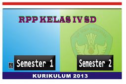 Download RPP Kurikulum 2013 Kelas IV lengkap.Doc