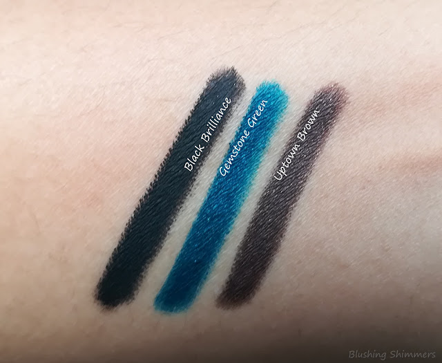Plum Nature Studio Kajal Trio all shade swatches