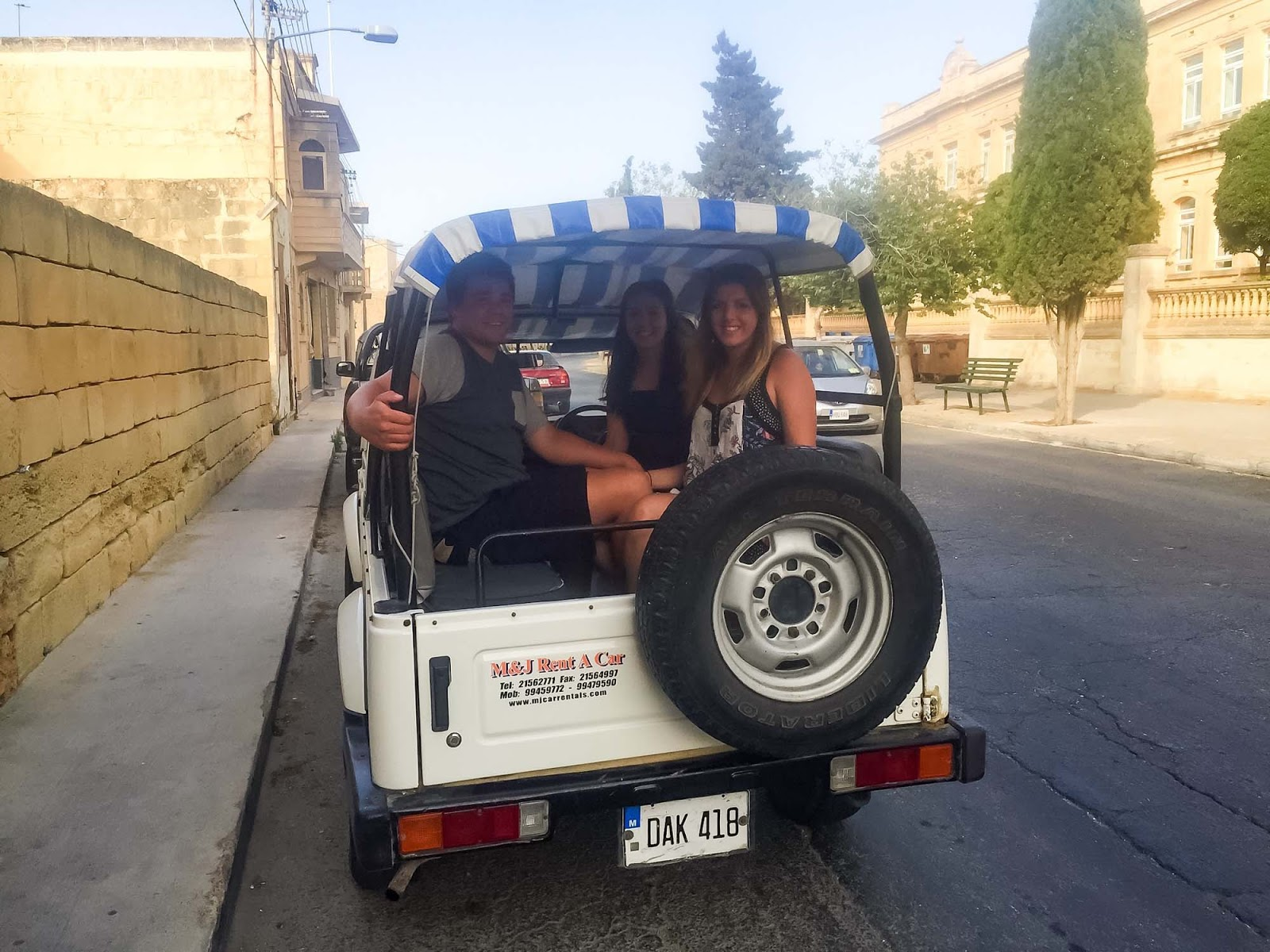 renting a jeep in gozo
