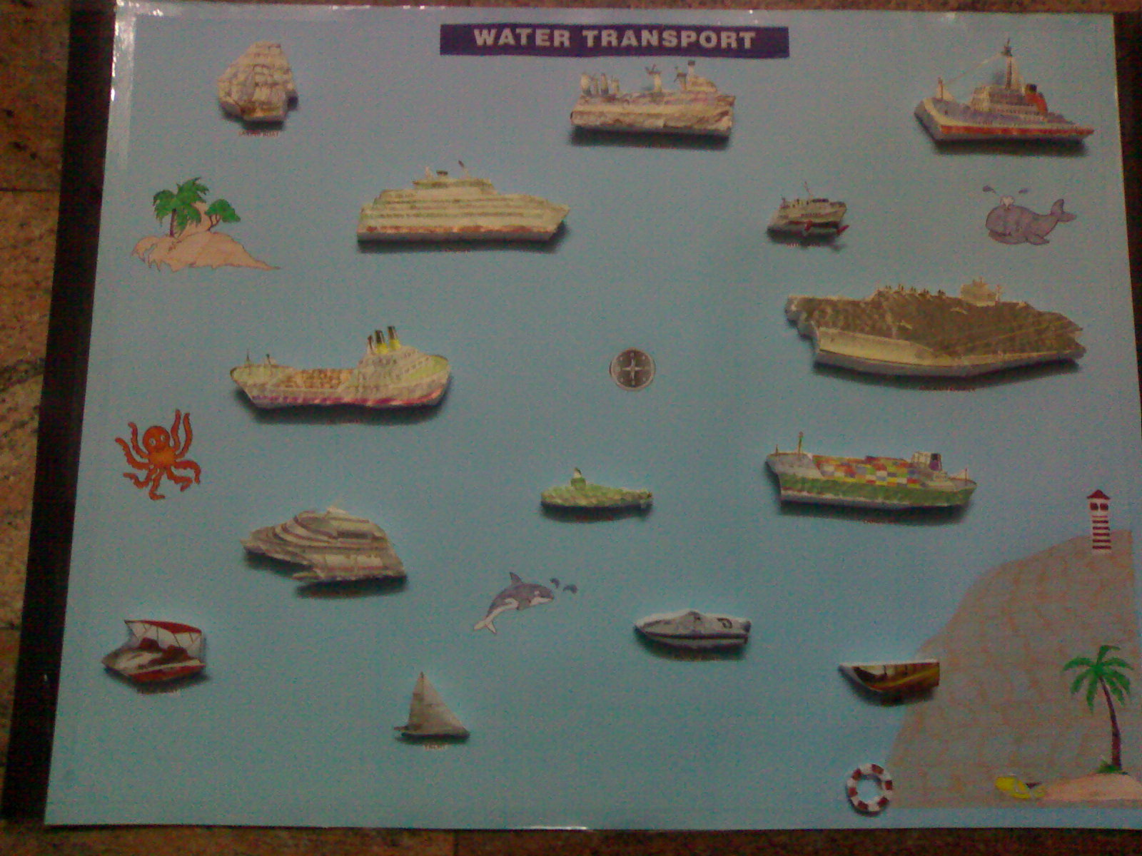 Kids Theme Project: WATER TRANSPORT