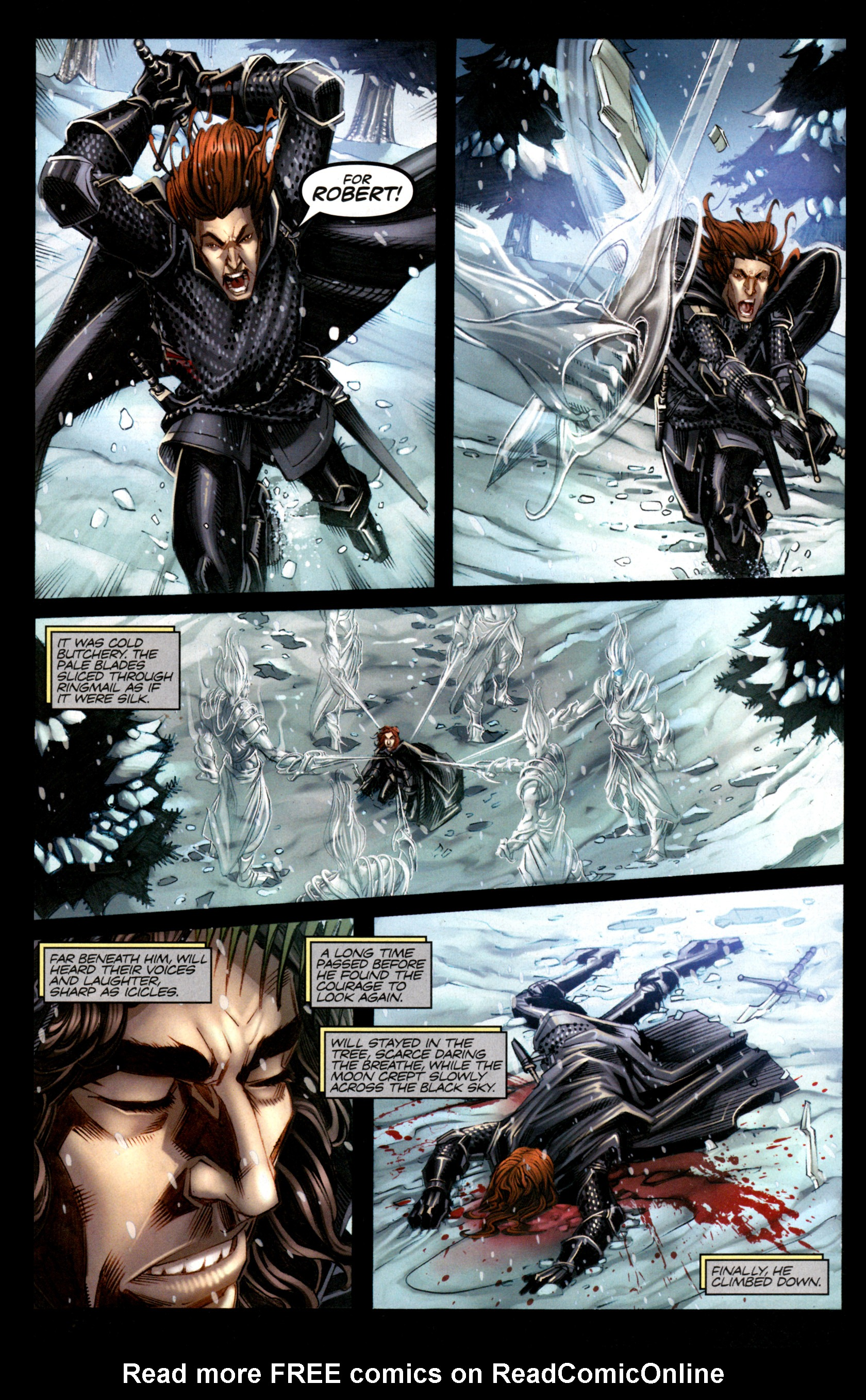 Read online A Game Of Thrones comic -  Issue #1 - 8