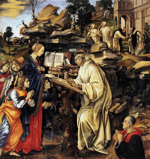 Filippino Lippi Vision of Saint Bernard