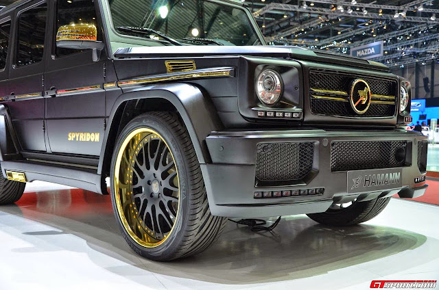 mercedes g63 hamann spyridon wheels