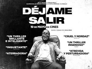 Poster Original de Déjame Salir, la ópera prima de Jordan Peele.