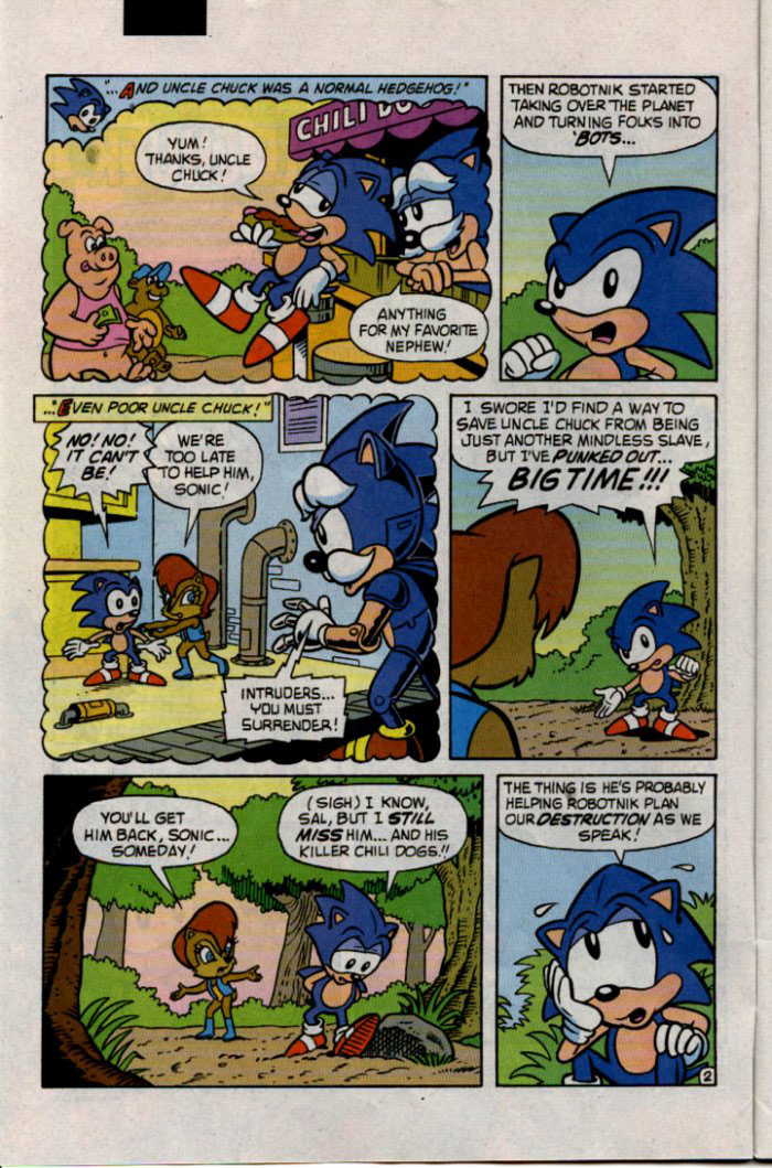 Read online Sonic The Hedgehog comic -  Issue #30 - 3