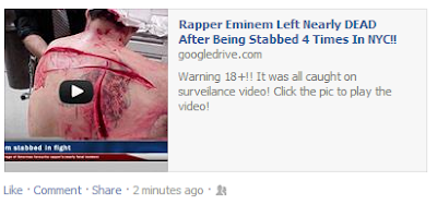 Rapper Eminem Left Nearly Dead After Being Stabbed 4 Times