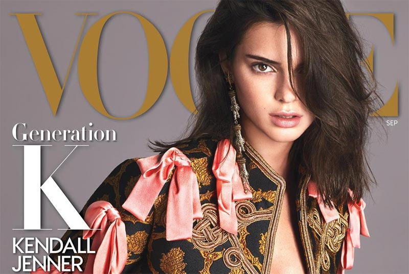 Kendall Jenner covers September issue of Vogue Magazine