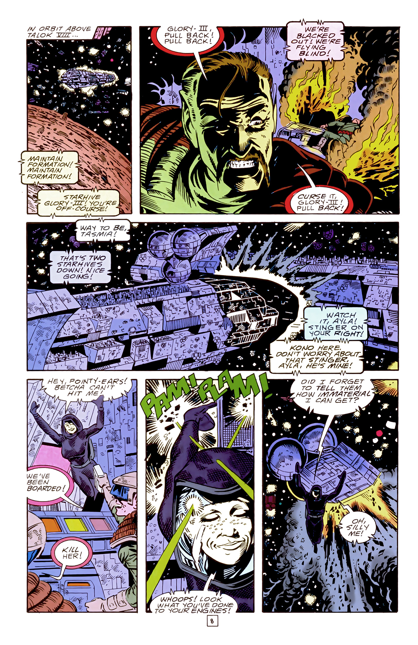 Legion of Super-Heroes (1989) 17 Page 8