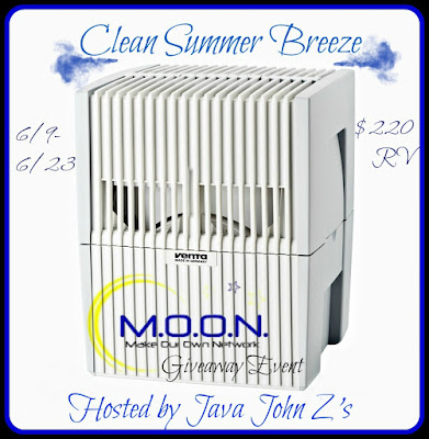 Enter the Clean Summer Breeze Giveaway. Ends 6/23.