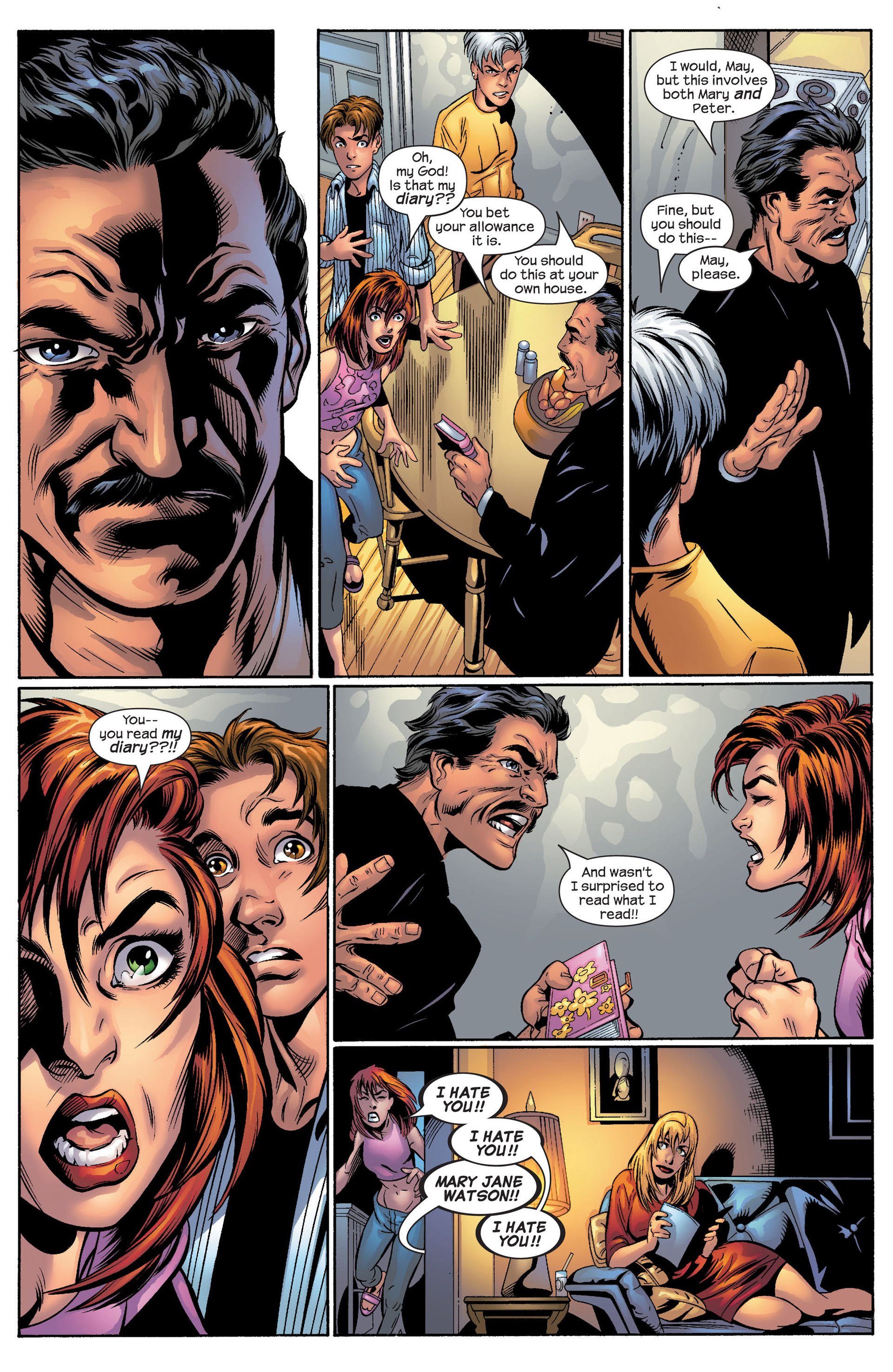 Read online Ultimate Spider-Man (2000) comic -  Issue #50 - 30