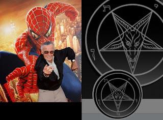 Stan Lee el satanista creador y rey de los super héroes de MARVEL para adoctrinamiento de las masas #Katecon2006