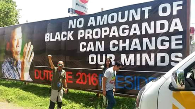 Duterte supporters: No amount of black propaganda can change our minds