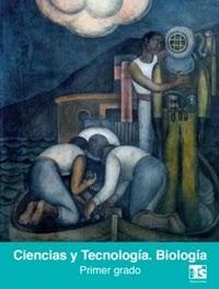 Libro de texto  Telesecundaria Ciencias Biología Primer grado 2019-2020