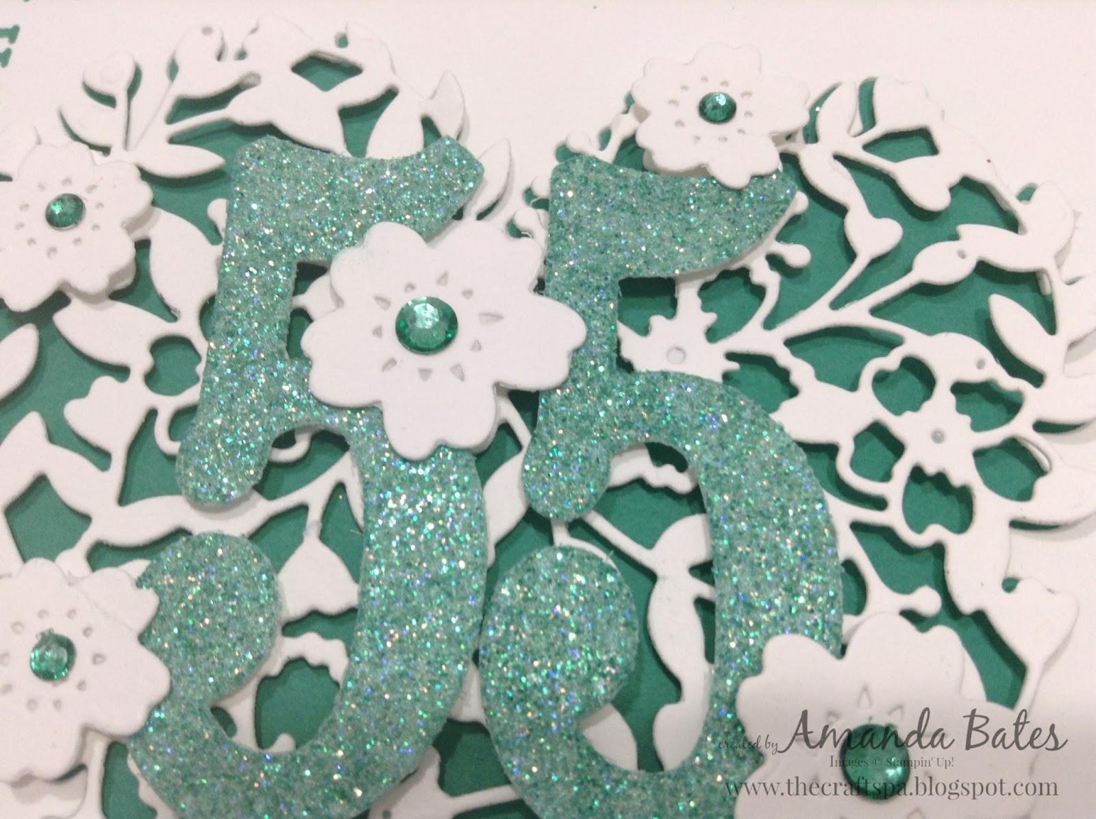 Emerald Wedding Anniversary Gifts: Stampin' Up! UK Independent Demonstrator