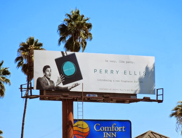 Perry Ellis 2013 fragrance billboard