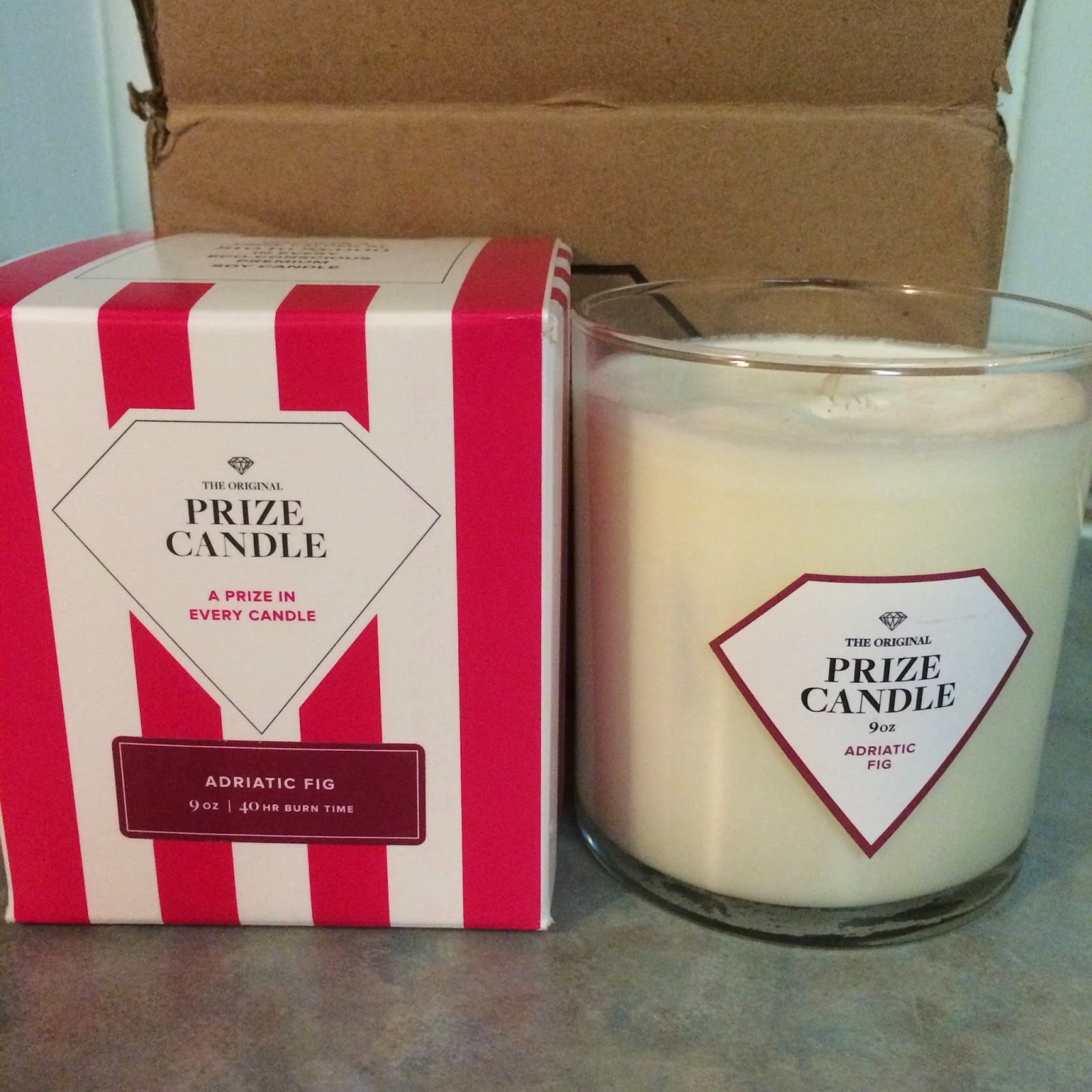 Prize Candle #review #flblogger #prizecandle