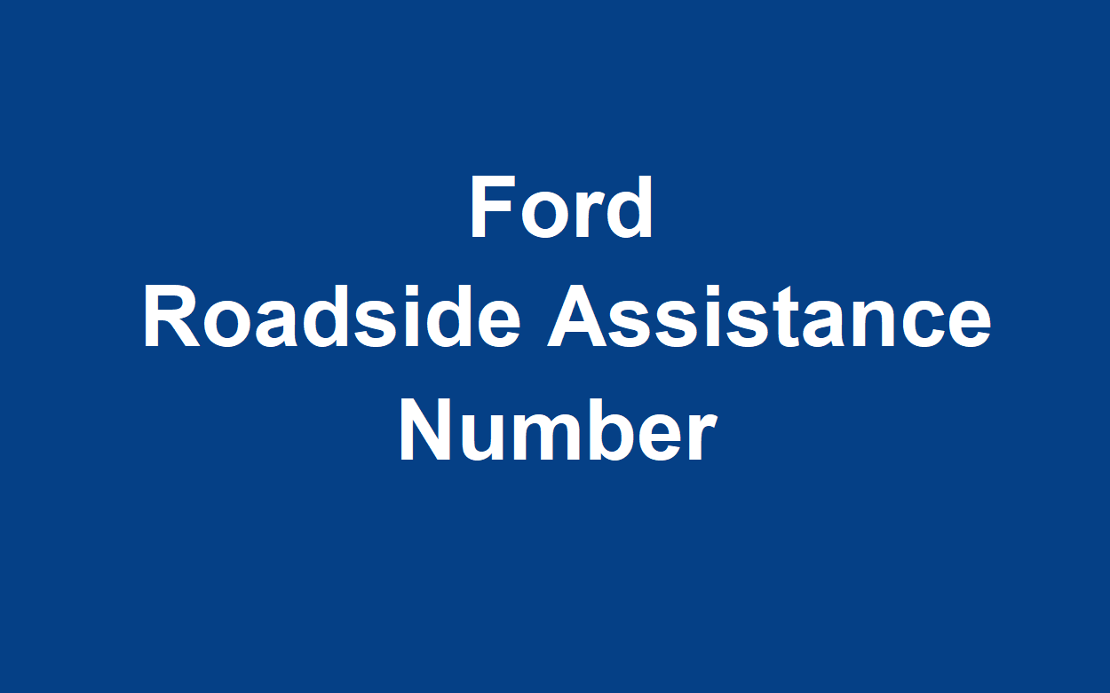 Ford Roadside Assistance Number