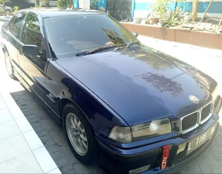 Dijuwal BMW E36 Full Mtech Original Plat Number Tahun 1995 Manual