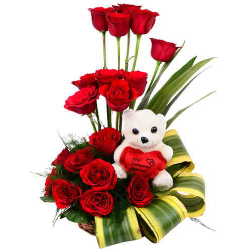 The Best Teddy Bear of 2019 - Teddy Day 2019 - Faux Rose Teddy