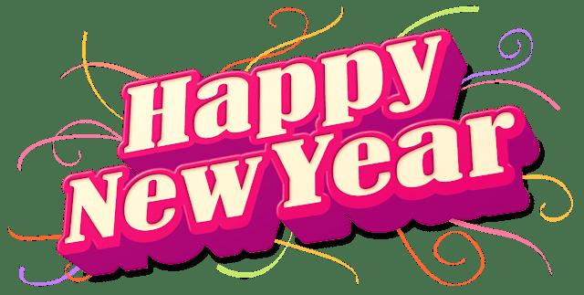 New Year Status in English