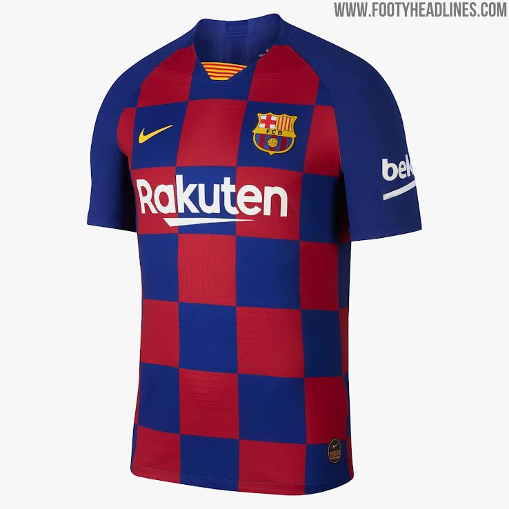 new product 536fd 594ff Barcelona 19-20 Home Kit Revealed - Footy Headlines