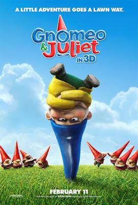 Gnomeo & Juliet Poster