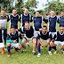 Vice-governador Lúcio Vale e o deputado federal Cristiano Vale participam de torneio de futebol para comemorar o Dia do Trabalhador no Km 74